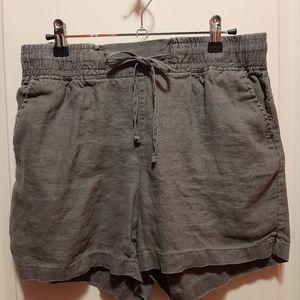 Company Ellen Tracy Linen Shorts